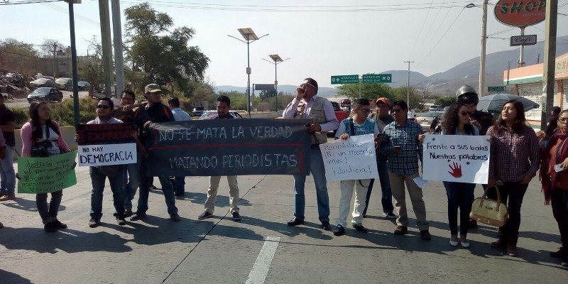 'Periodismo, en crisis por violencia', alertan con protesta en Chilpancingo