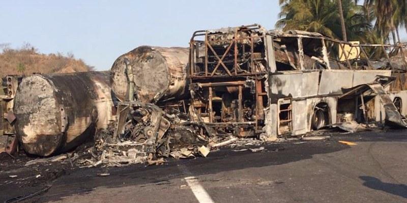 Choque en autopista Siglo XXI fue descuido del chofer: Vocero de Guerrero
