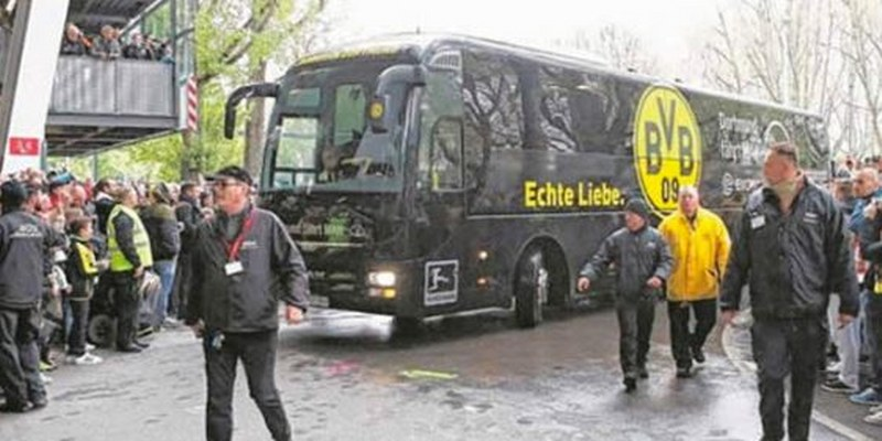 'No sabíamos qué pasaba', narró jugador tras explosión en autobús del Borussia