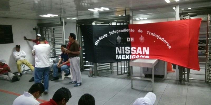 Estalla huelga en armadora de Nissan México