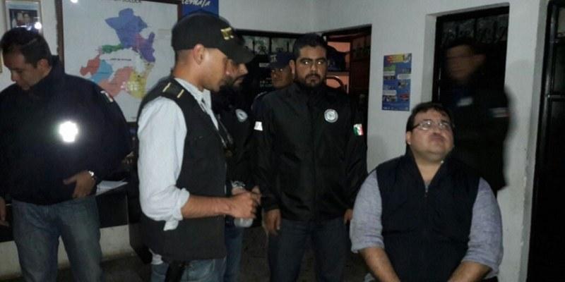 Javier Duarte trataba de pasar por un turista más en balneario guatemalteco