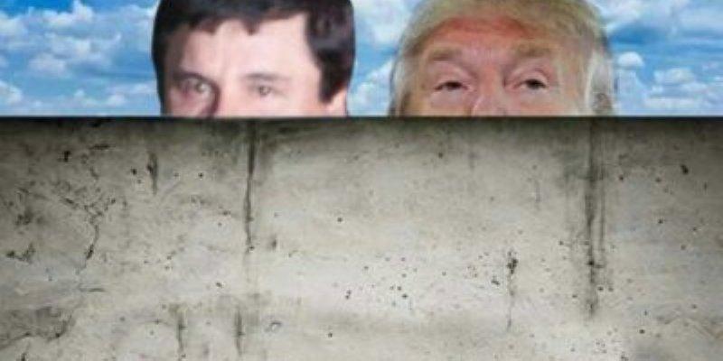 Dinero de narcos servirá para construir muro de Trump