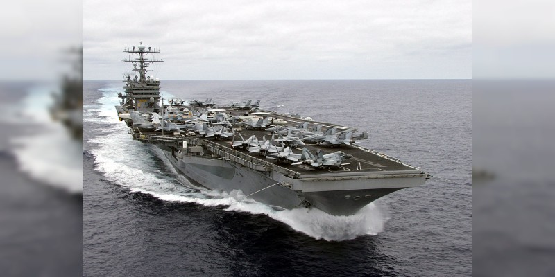 Envía EU portaaviones a la Península de Corea