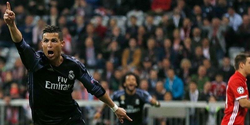 Real Madrid, con un pie en semifinales de Champions