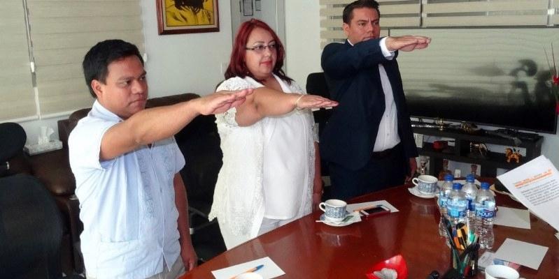 Nombran a nuevos funcionarios del INE en Guerrero