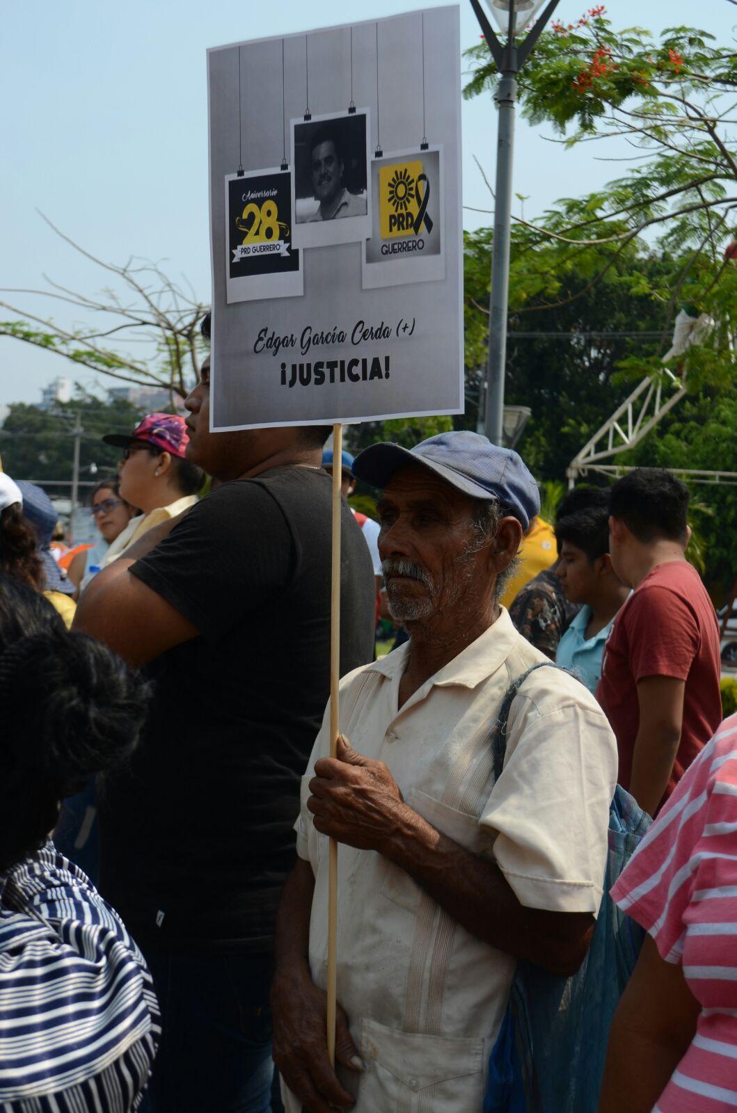 """Convierte PRD marcha """"por la paz"""" en acto político 1"""