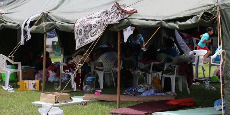 Refugiados en Morelos