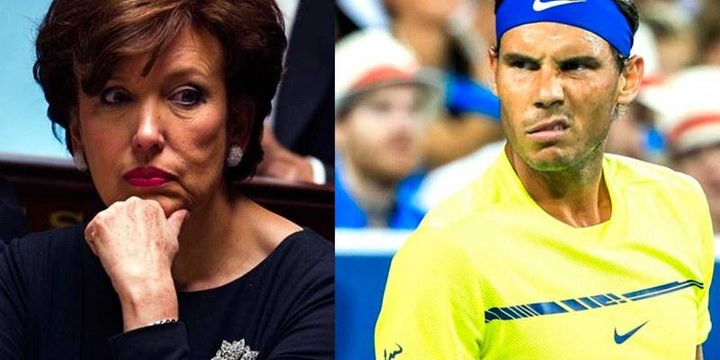 Condenan a exministra francesa por difamar a Rafael Nadal