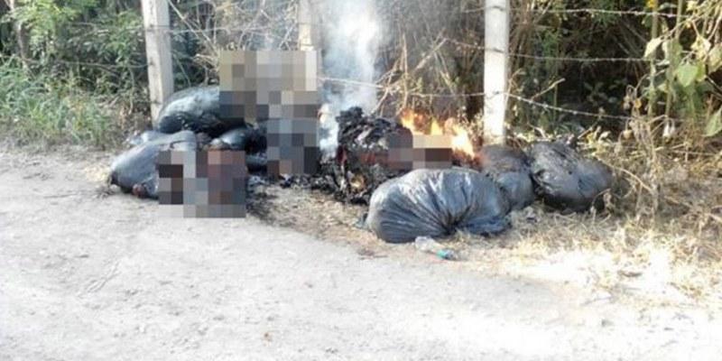 Fueron 7 los muertos quemados en Chilapa