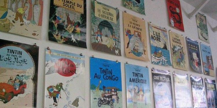 'Las aventuras de Tintín'
