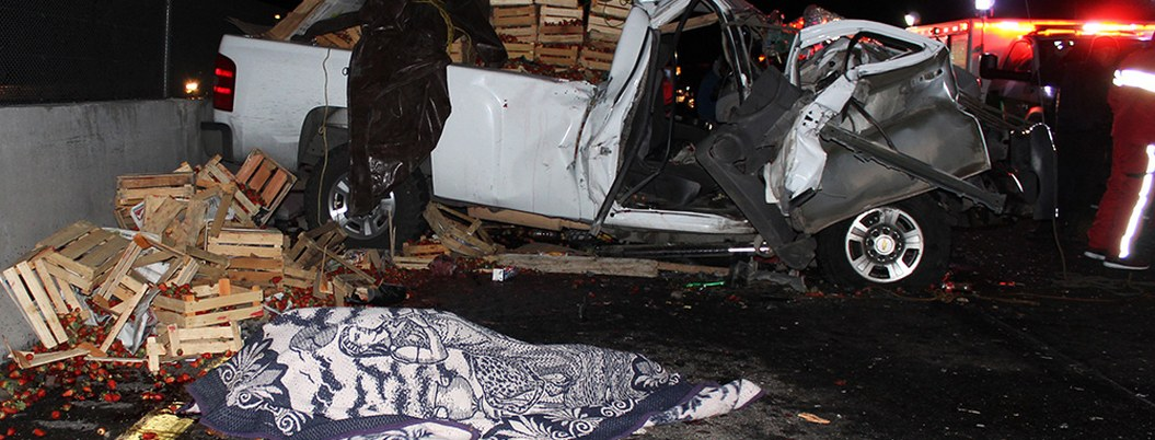 Mueren 10 peregrinos en accidente carretero en la México-Puebla