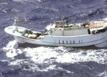 Mueren 13 personas al chocar barco de pesca con petrolero en Corea del Sur 1