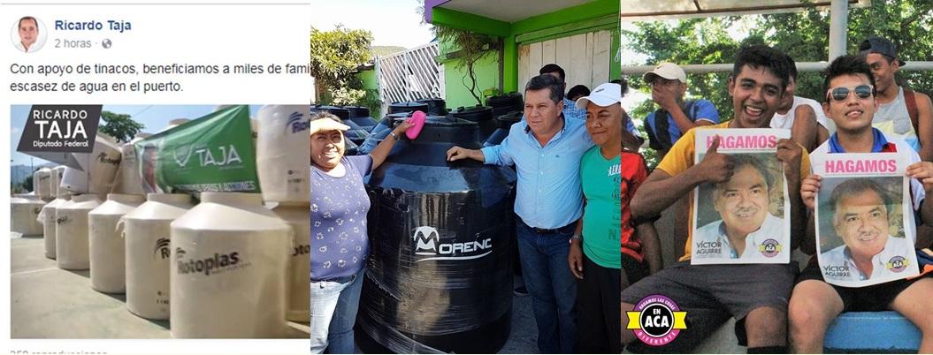 Campañas adelantadas inundan Guerrero; autoridad electoral ausente