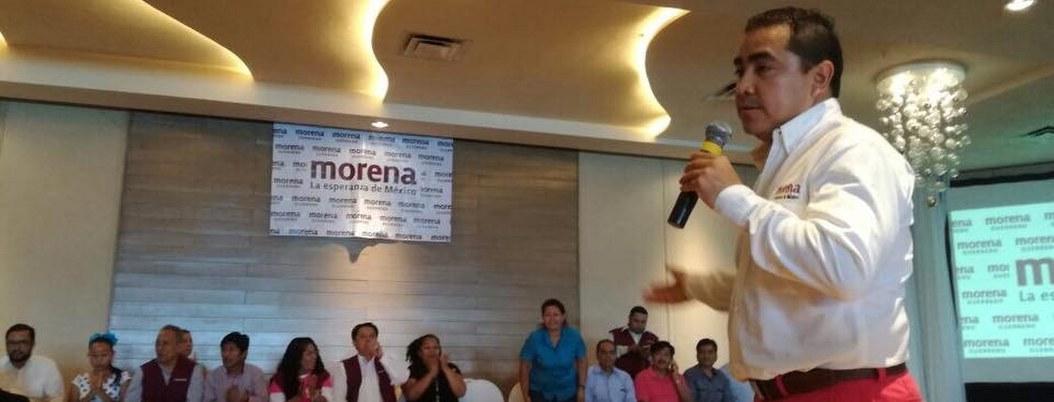 Alianza PT-Morena, solo si la encabeza el doctor Solorio: Wences