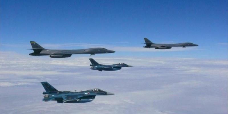 EU y Corea del Norte simulacro de combate aéreo