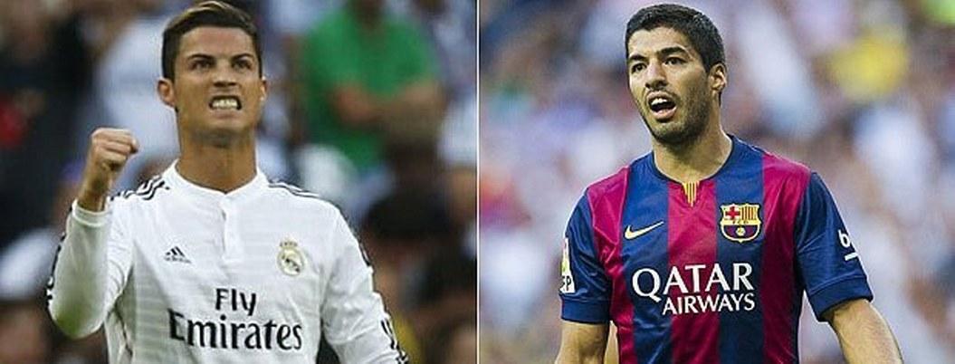 Suárez y Ronaldo alcanzan su mejor forma antes del clásico