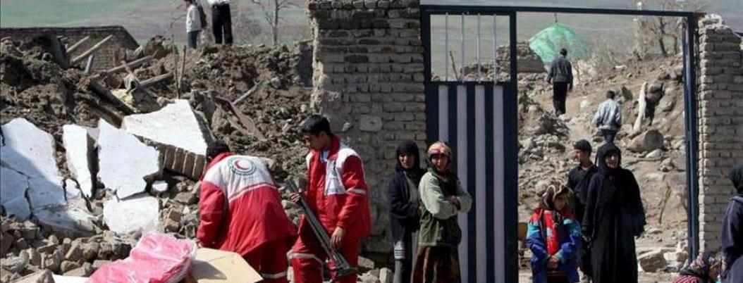 Terremoto de magnitud 6.2 sacude el sureste de Irán