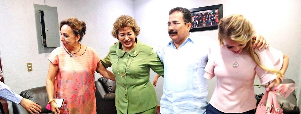 Adela Román, beneficiaria de la corrupción