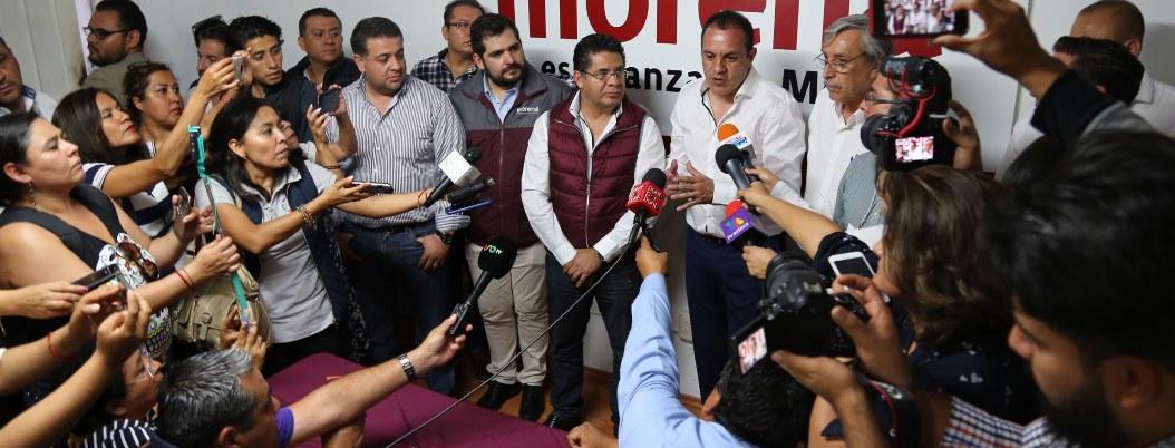 """Cuautémoc Blanco: """"Adversarios robarán y quemarán urnas"""""""