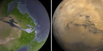 Océanos en Marte