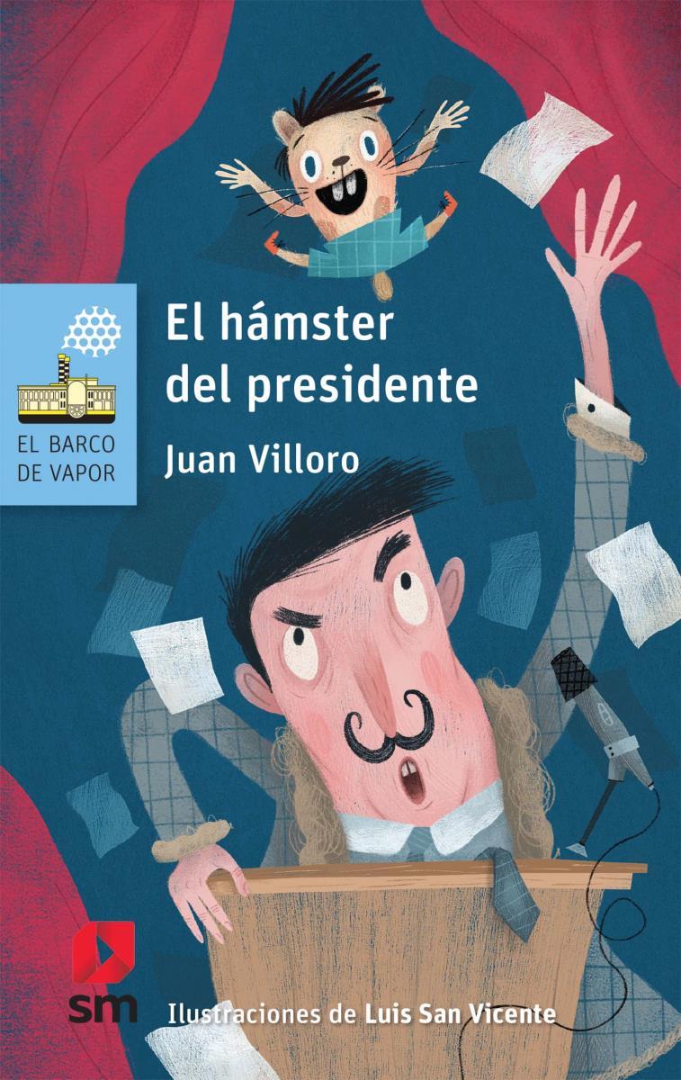 """""""El hámster del presidente"""", divertido libro de política para niños 1"""