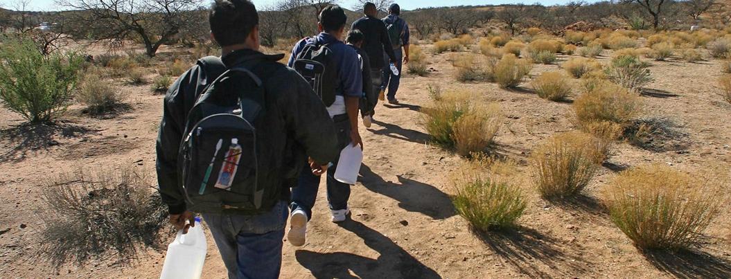 Niña migrante muere en el desierto cruzando la frontera México-EU