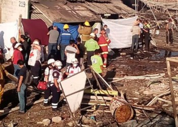 Siguen hospitalizados 38 heridos por explosión en Tultepec 2