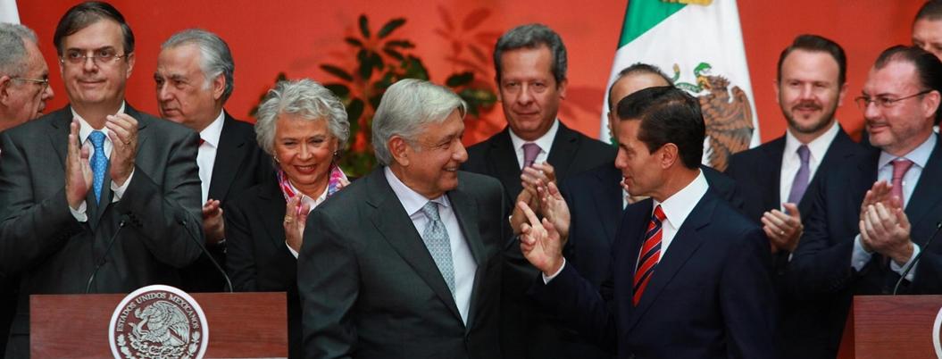 Peña se despide de Presidencia de México