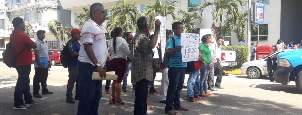 Evodio también debe pagos a comisarios y delegados de Acapulco