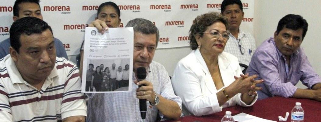 Juan Carlos Manrique y su mentor