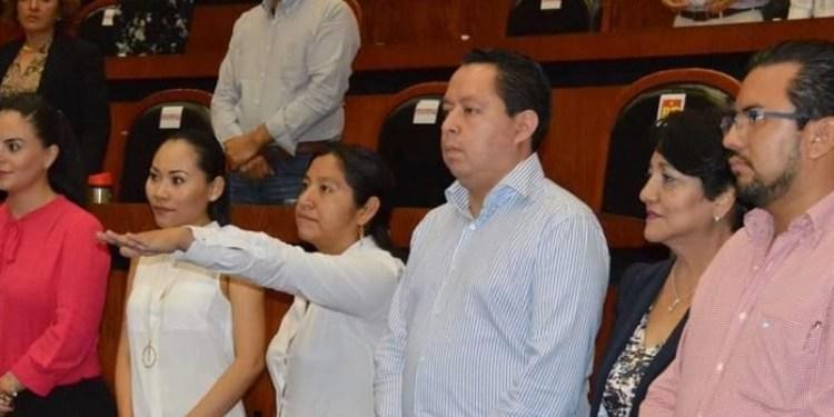 Esposa de alcalde desaparecido de Cochoapa el Grande toma protesta 1