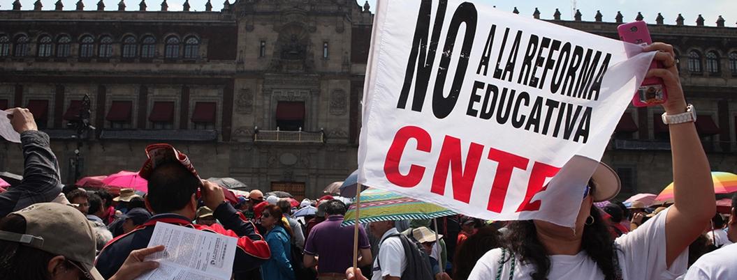 Maestros tienen sus métodos para conseguir abrogar reforma: CNTE