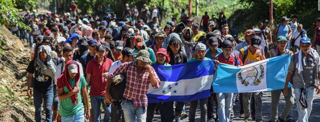 AMLO ofrece 4 mil empleo en la frontera sur a migrantes