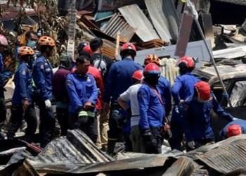 Hallan con vida a 31 niños bajo escombros de terremoto en Indonesia 1
