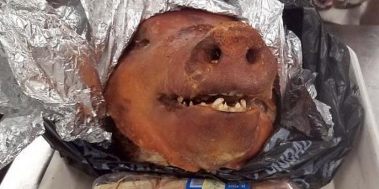 Hallan cabeza de cerdo en equipaje en el aeropuerto de Atlanta 1