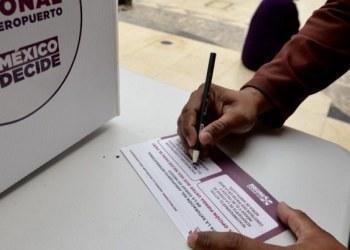 Casi 300 mil mexicanos han participado en consulta sobre aeropuerto 1