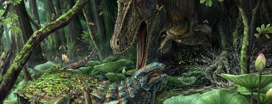 Descubren nueva especie de dinosario; es primo del T-rex