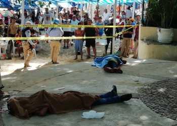 Matan a dos en plena playa de Acapulco; turistas observan con pánico 2