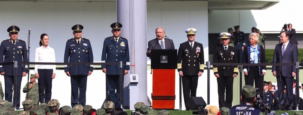 AMLO dirige mensaje a Fuerzas Armadas; confía que combatirán crimen