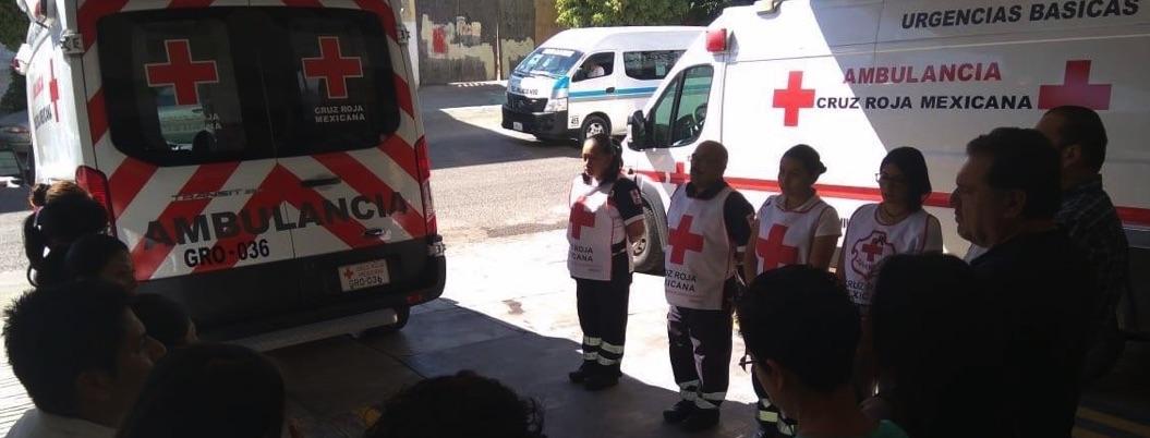 Cruz Roja no estará en el desfile del 20 de noviembre en Chilpancingo