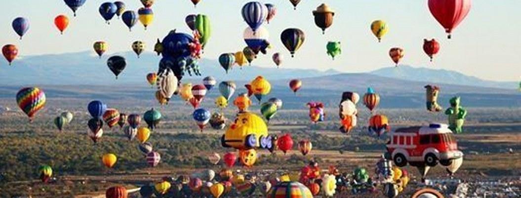 México reunió a 23 países volando en globos aerostáticos