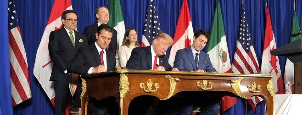Trump agradece firma de T-MEC a Peña y ofrece colaboración a AMLO