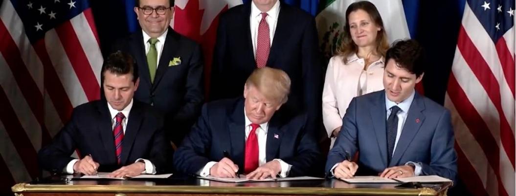 Firman T-MEC con aranceles que afectan a México y Canadá