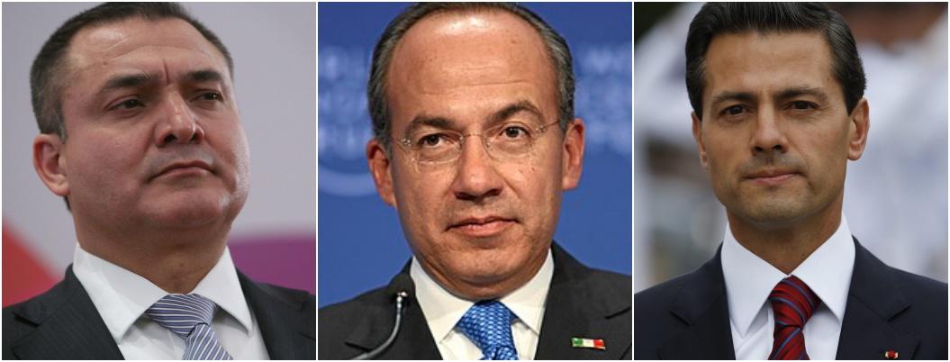 Juez de NY desestimaría acusaciones contra García Luna, Calderón y EPN