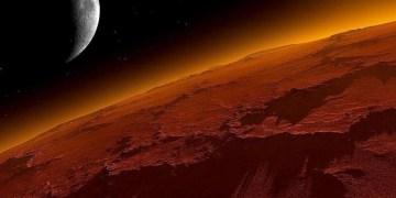 Fotografían colina con sedimentos en Marte 13