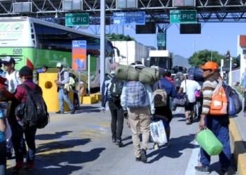 Nayarit se niega a recibir a Caravana Migrante 1