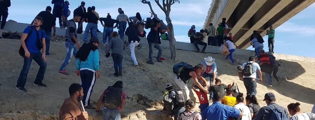 Regresaron a sus países más de mil 700 integrantes de Caravana Migrante