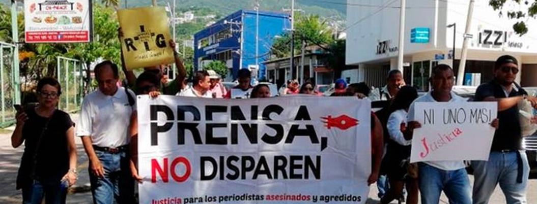 Comunicadores huyen de Guerrero ante violencia imparable