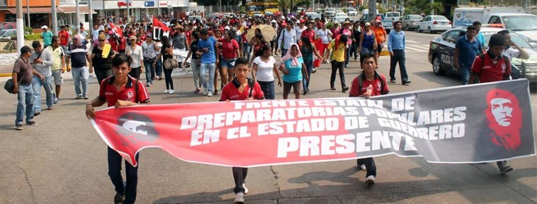 Exigen reconocimiento oficial de preparatorias populares de Guerrero