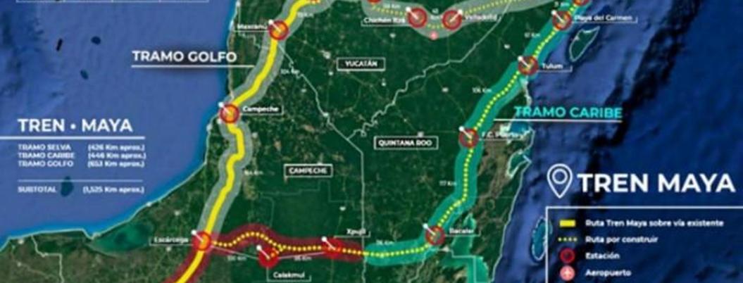 Indígenas exigen se les consulte especialmente a ellos sobre Tren Maya